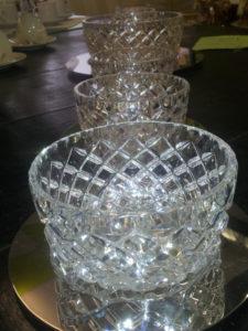 Servizio in cristallo 6+1 pz
