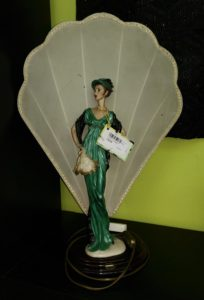Lampada vintage h.65 cm.