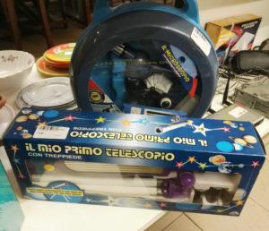 Microscopio o telescopio per bambini