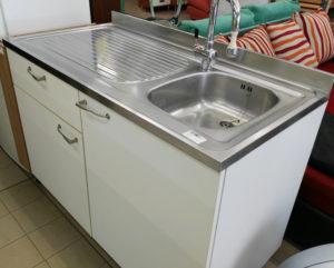 Mobile lavello con miscelatore 120 x 60 - € 99.90