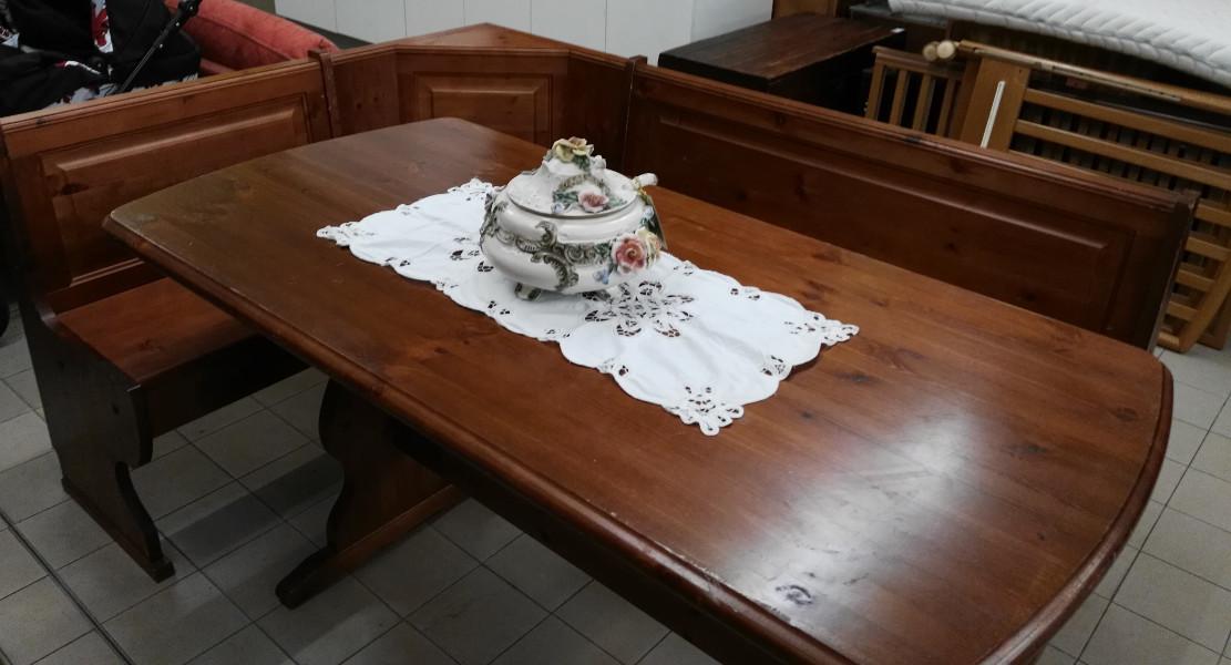 tavolo 150 x 80 con giro panca venduti il