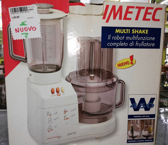 Robot da cucina Imetec nuovo (venduto) | Il SuperMERCATINO ...