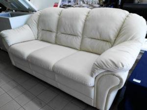 Divano bianco 3 posti 205 x 90 cm. - 110 €