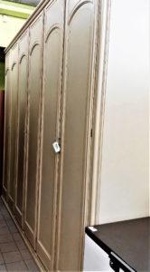 Armadio 6 ante classico con cassettiera interna 300 x 60 x 265 h - € 275