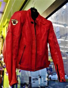 Giubbotto in pelle da motociclista Suomy taglia XL donna - € 79.90
