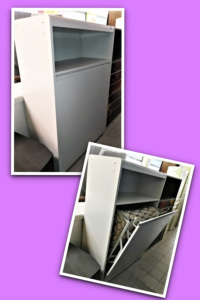Mobile letto bianco completo L 94 P 45 H 143