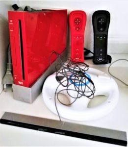 Wii con accessori