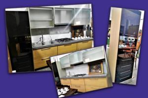 Cucina lineare modificabile cm. 270 + colonna forno da 60 cm. - € 549